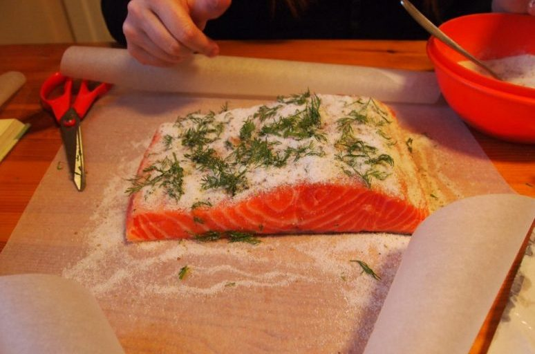 how to cure salmon george hughes fishmongers