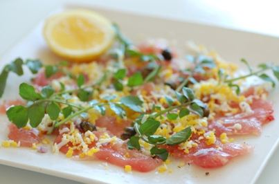 tuna-carpaccio