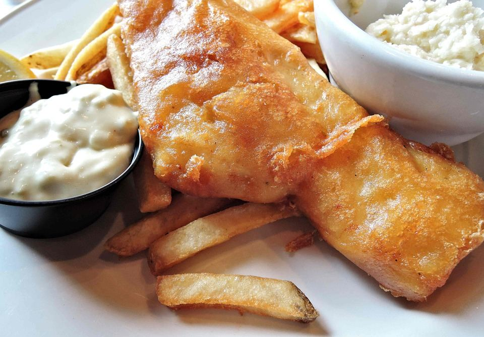 Fish & Chips Tartare Sauce
